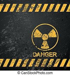 nukleare Gefahrenwarnung
