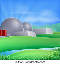 Nuklearenergie illustriert