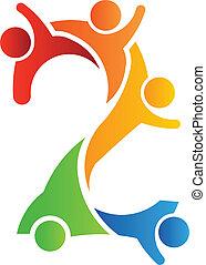 Nummer 2 Teamwork Logo.