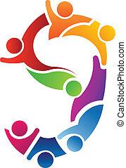 Nummer 9 Teamwork Logo.