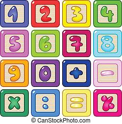 Nummernblöcke
