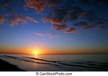 Ocean Sonnenaufgang