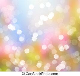 Ohne Hintergrund glänzender Lichter