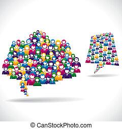 online, marketing, begriff, strategie