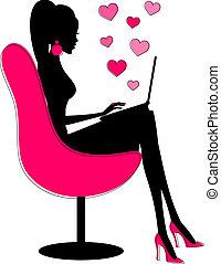 Online-Romanze