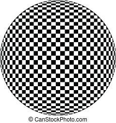 Optische Illustration