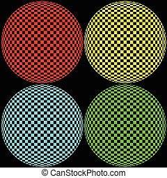Optische Kreisbilder
