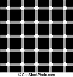 Optische Kunstserie: Netz