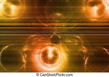 Orangefarbenes lila Geschäftssystem abstrakter Hintergrund