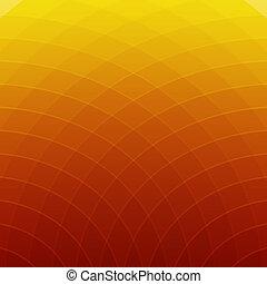 Orangen- und gelben Linien im Hintergrund entfernen