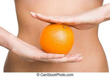 Orangene Ernährung