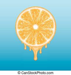 Orangenschnitt