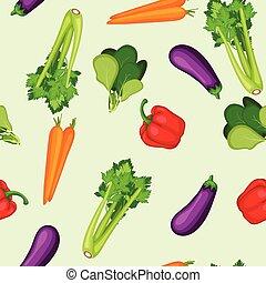 Organische gesunde pflanzliche Sammlung.
