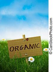 Organisches Zeichen, natürliches Land