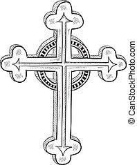 Orthodoxe oder katholische Kreuzzeichnung