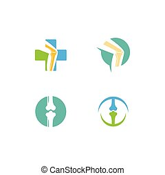 orthopädisch, klinik, logo