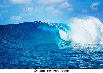 Ozeanwelle.