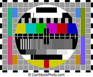 PAL-TV-Testsignal