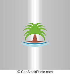 Palm-Icon-Vektor-Logo.