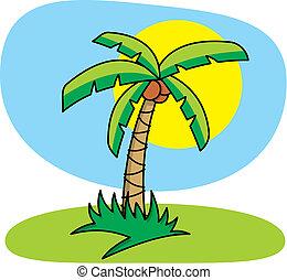 Palmbaumvektor