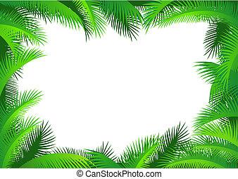 Palmblatt-Grenze