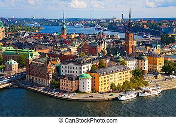 Panorama von Stockholm, Schweden