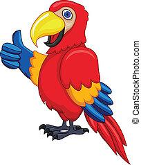 Papageien Cartoon