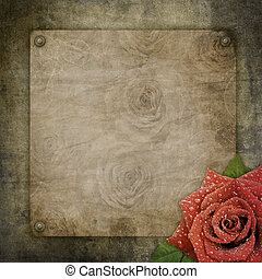 papier, hintergrund, altes , textured, weinlese