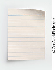 papier, notizbuch, liniert