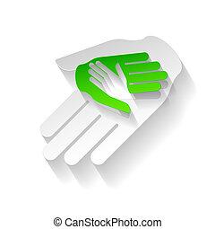 Papierhände