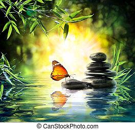papillon, delikat, begriff, -