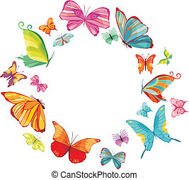 papillon, groß, satz