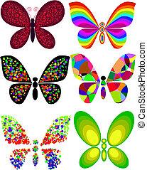 papillon, künstlerisch