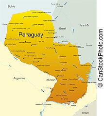 paraguay, land