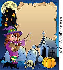 Parchment mit Halloween-Thema 5