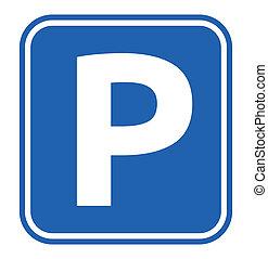 Parkzeichen