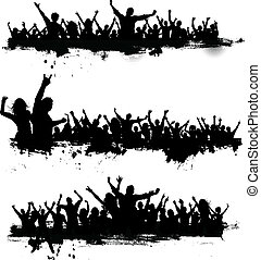 party, grunge, mengen