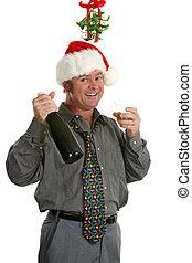 party, kerl, weihnachten