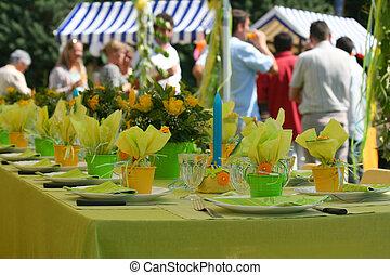party, kleingarten