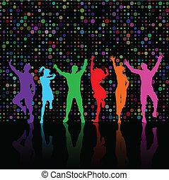 Party-Leute tanzen