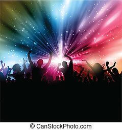 Party-Publikum