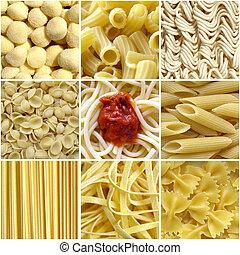 Pasta-Collage
