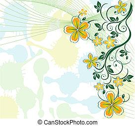 Pastelforal Hintergrund