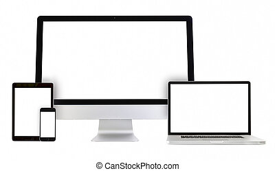 pc computer, telefon, tablette, laptop