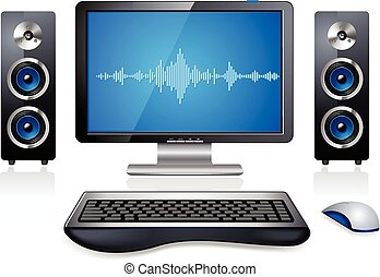 PC Multimedia-Computerstation