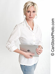 PC-Tablettenbesitzer.