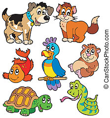Pet Cartoons-Sammlung