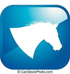Pferde-Ikone