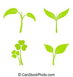 Pflanzensymbole
