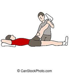 Physische Therapie.